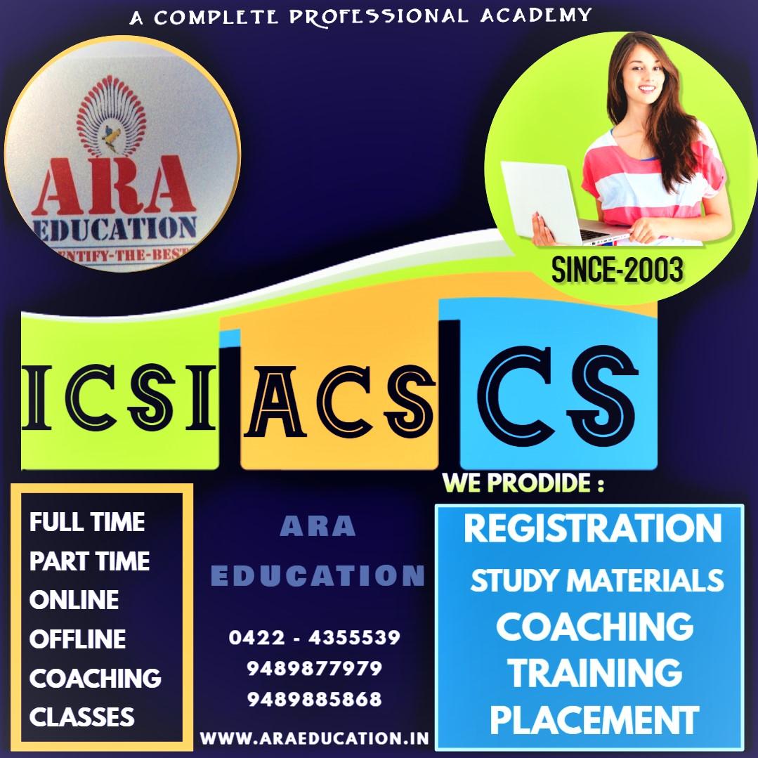 Best NO 1 Ara Education for cs coaching classes