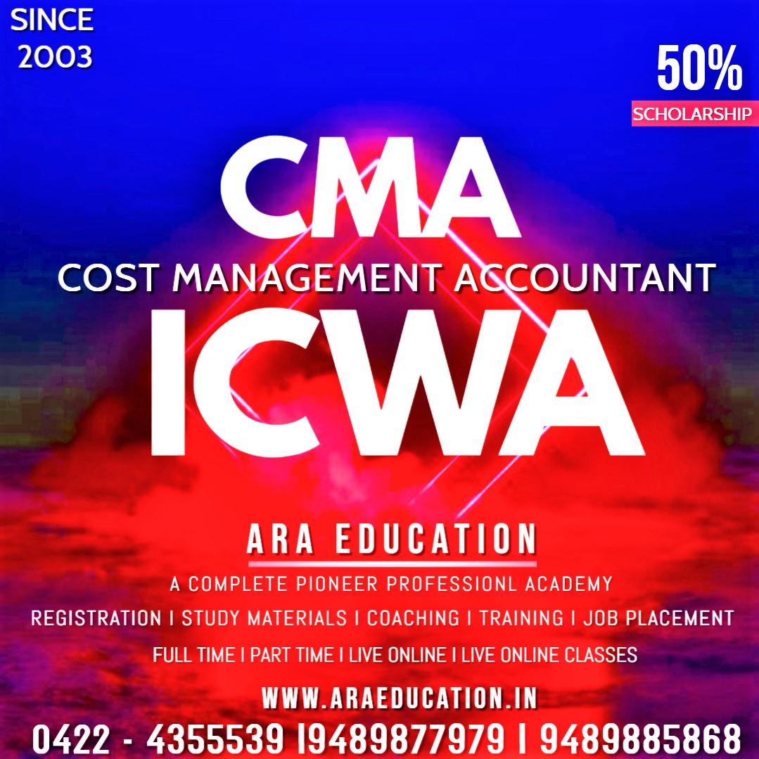 Best CMA-ICWA Coaching Center in coimbatore-Ara Education