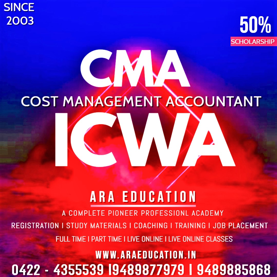 Career options after CMA Course.