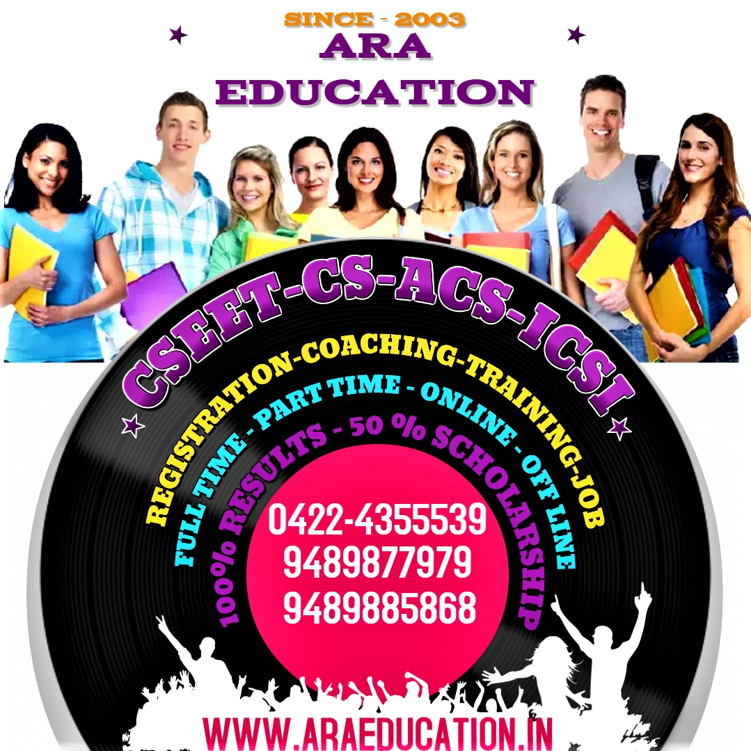 ACHIEVE YOUR CS DREAM BY JOINING ARA EDUCATION