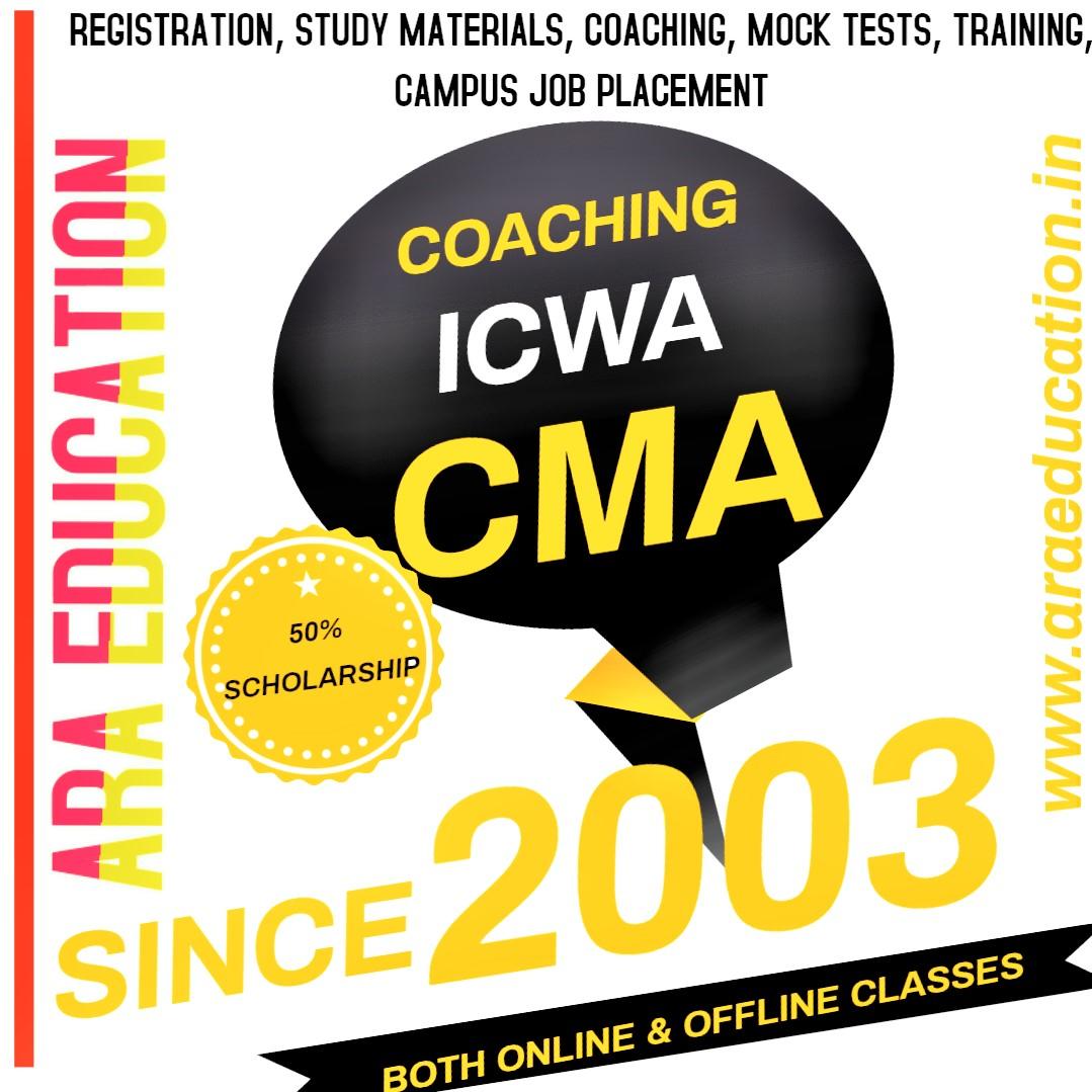 CMA ICWA Coaching Center Academy Institute classes in coimbatore Tamilnadu