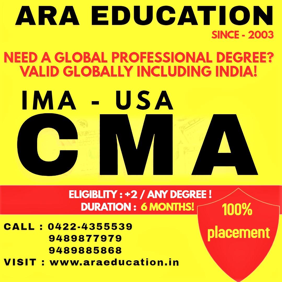 US CMA Coaching Center Academy Institute in Coimbatore Tamilnadu