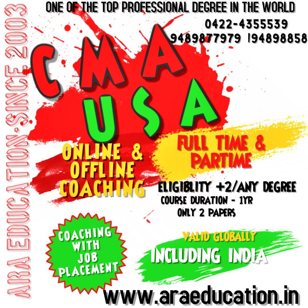 Best USCMA Coaching Institute in Coimbatore TamilNadu India