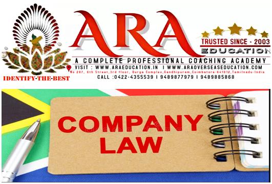CS Executive Company Law Notes Free Download ARA EDUCATION