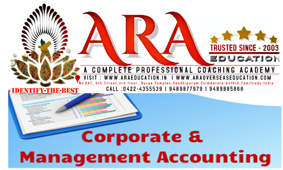 CS Executive Corporate Management Accounting Notes Free Download ARA EDUCATION