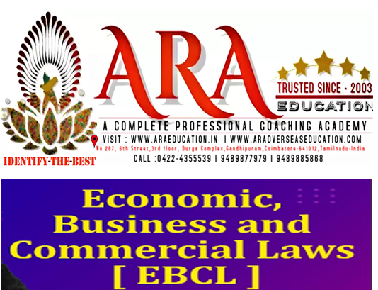 CS Executive Economic, Business and Commercial Law Notes  Free Download ARA EDUCATION