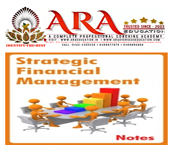 CS Executive Financial and Strategic Management Notes  Free Download ARA EDUCATION