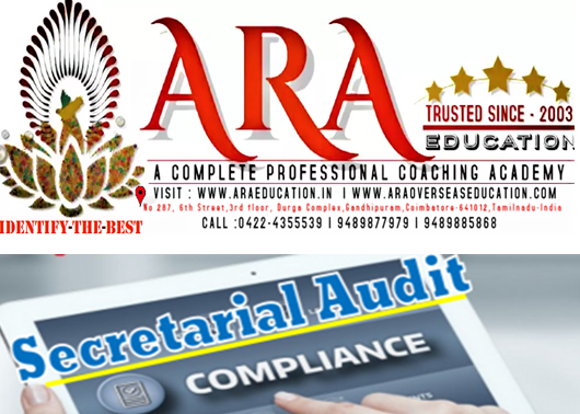 CS Final Secretarial Audit Compliance Management and Due Diligence Notes Free Download ARA EDUCATION