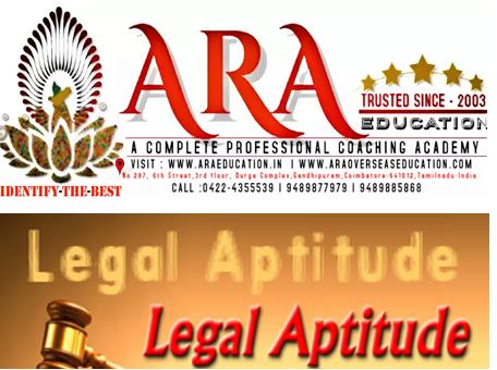 CSEET Legal Aptitude and Logical Reasoning Notes Free Download ARA EDUCATION