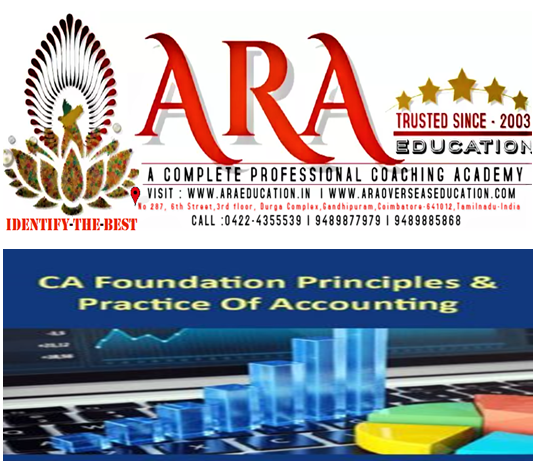CA Foundation Principles and Practice of Accounting Notes Free Download